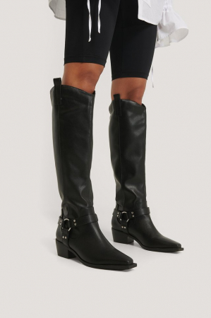 Cizme Knee High Western [2]
