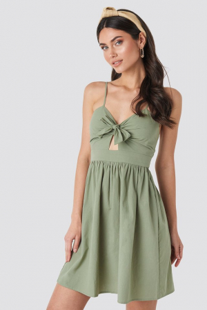 Rochie Knot Front Cut Out0