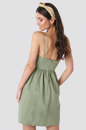 Rochie Knot Front Cut Out [1]