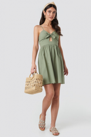 Rochie Knot Front Cut Out2