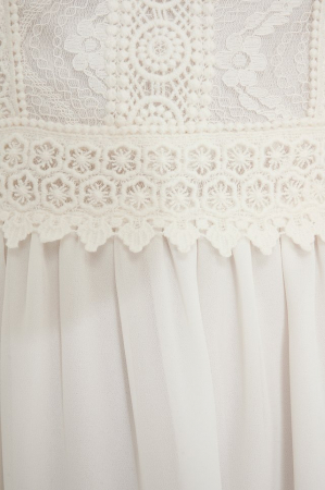 Lace Anglaise Mini Dress2
