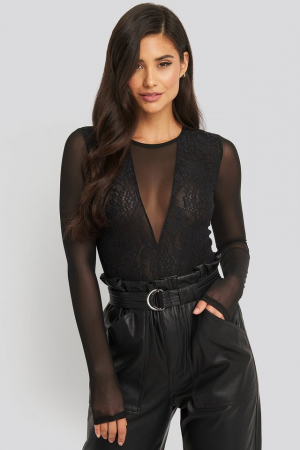 Body Lace Mesh Sleeve [1]