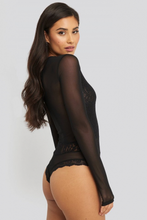 Body Lace Mesh Sleeve [3]