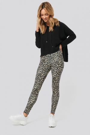 Pantaloni Leopard Print [0]