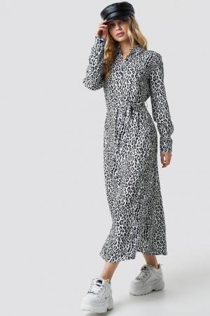 Rochie Leopard Printed0