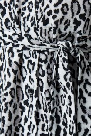 Rochie Leopard Printed2