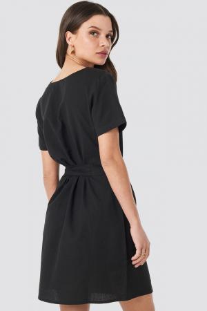 Rochie Linen Look Buttoned [1]