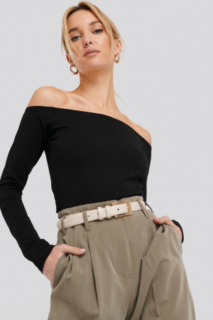 Bluza Long Sleeve Off Shoulder0