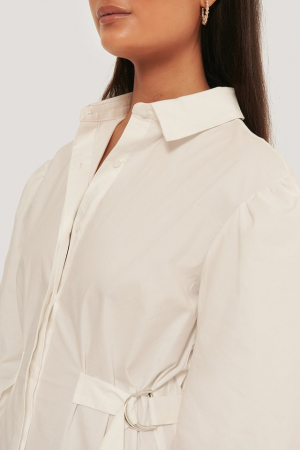 Rochie Marked Waist Oversized Shirt [3]