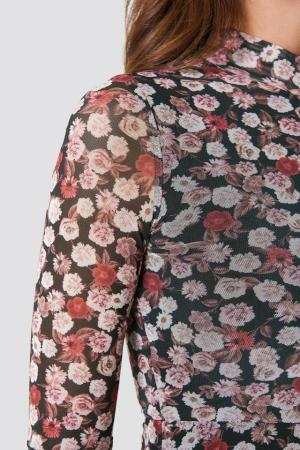 Rochie Mesh Bell Sleeve [1]