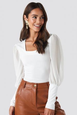 Bluza Mesh Contrast Sleeve Jersey [0]
