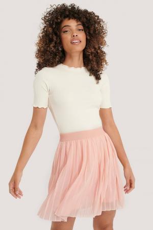 Fusta Mini Pleated Skirt0