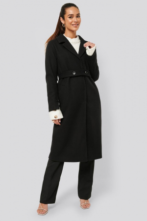 Palton Sleeve Slit Coat [0]