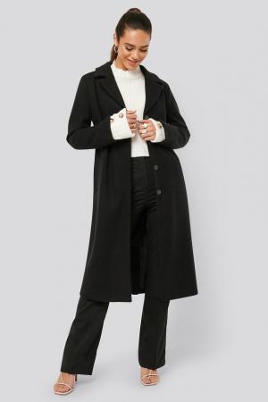 Palton Sleeve Slit Coat [2]