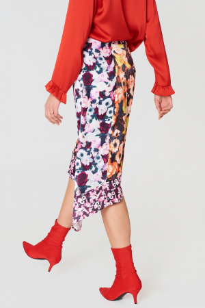 Fusta Multiprint Block Skirt1