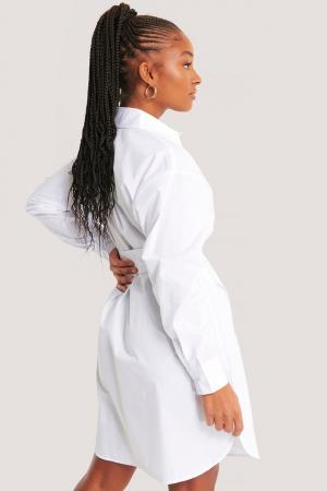 Rochie Camasa O-ring Belted Shirt1