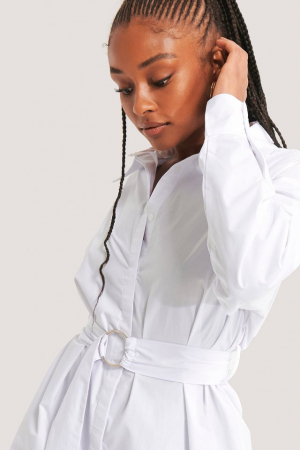 Rochie Camasa O-ring Belted Shirt2