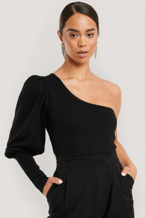 Top One Puff Sleeve Crop2