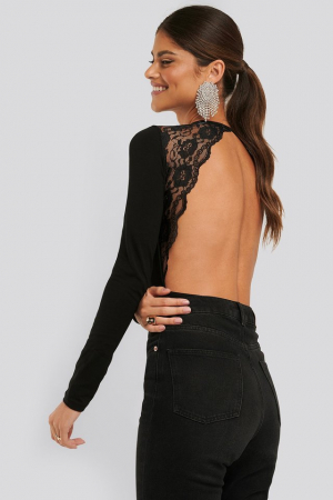 Open Back Lace Body4