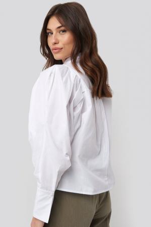 Camasa Oversized Puff Sleeve [2]