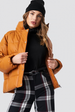 Geaca Padded PU Leather [4]