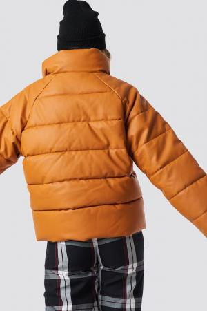 Geaca Padded PU Leather [3]