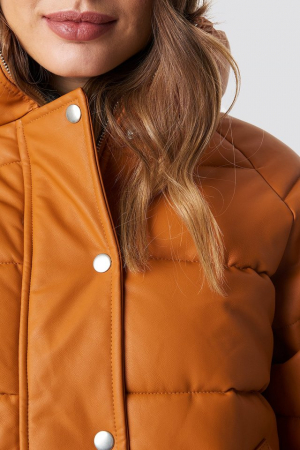 Geaca Padded PU Leather [1]