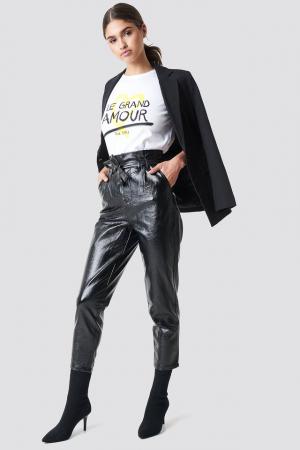Pantaloni Paperwaist Patent Leather [2]
