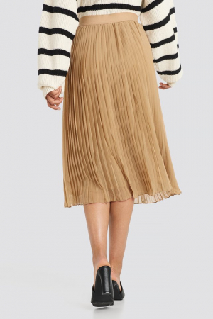 Fusta Pleated Midi Skirt2