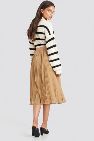 Fusta Pleated Midi Skirt3