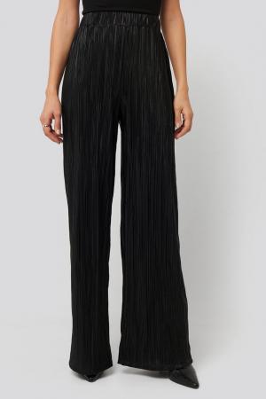 Pantaloni Plisse Wide Leg [3]