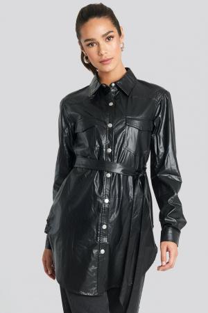 Camasa Pu Shirt Jacket0