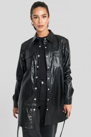 Camasa Pu Shirt Jacket2