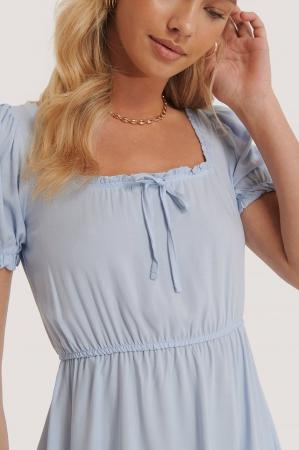 Rochie Puff Sleeve Mini [2]