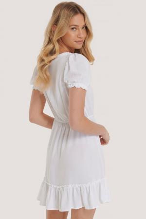 Rochie Puff Sleeve Mini2
