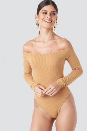 Body Ribbed Off Shoulder2