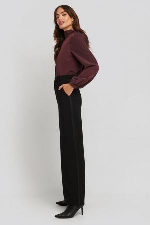 Pantaloni Satin Detail [2]