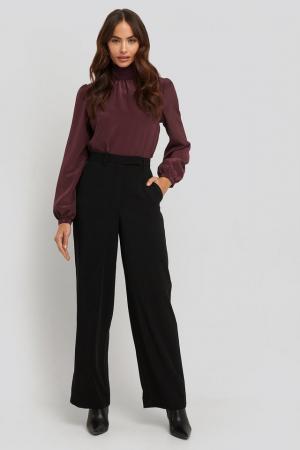 Pantaloni Satin Detail [0]