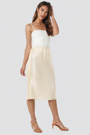 Fusta Shiny Pleated0