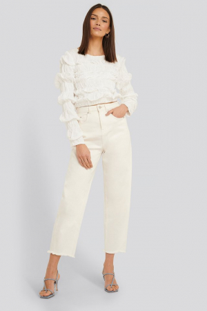 Bluza Shirred Long Sleeve4