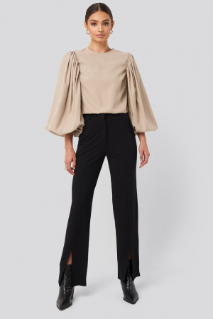 Pantaloni Split Front Seam [0]