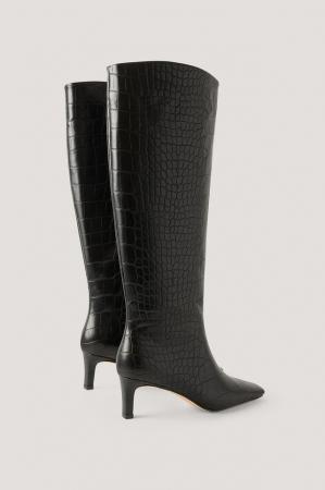 Cizme Squared Long Toe Shaft Boots [0]