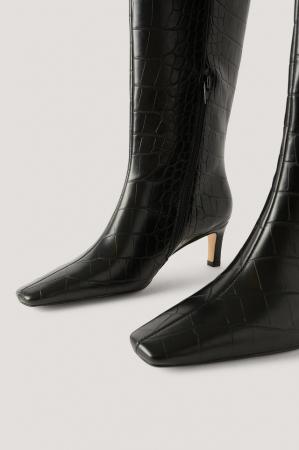 Cizme Squared Long Toe Shaft Boots [2]