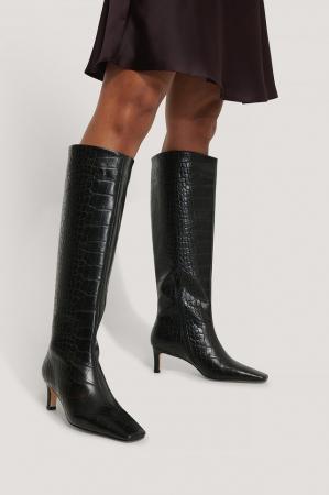 Cizme Squared Long Toe Shaft Boots [3]