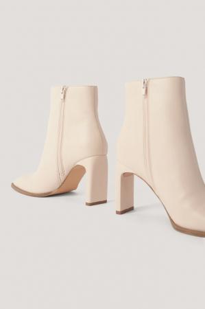 Botine Squared Slanted Toe Boots [2]