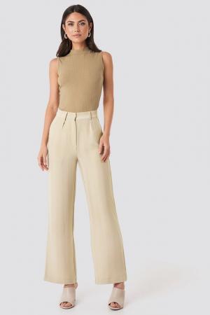 Pantaloni Striped Wide [0]