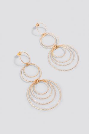 Cercei Textured Multi Circle Earrings [0]