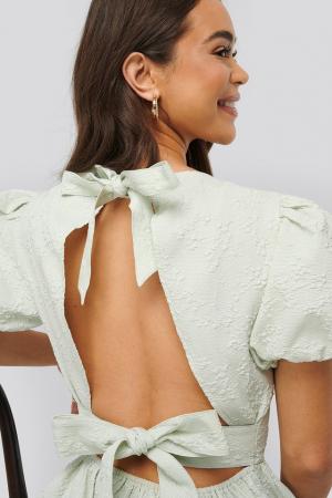 Tie Back Flower Structured [3]