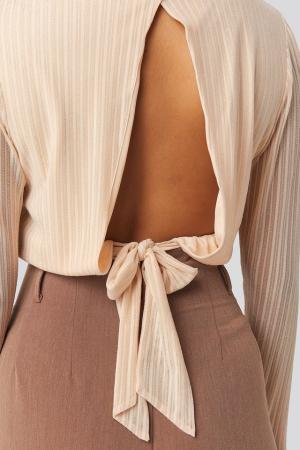 Bluza Tie Back Glittery [3]