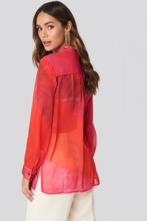 Camasa Tie Dye Sheer [1]